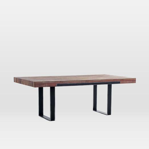 and Brown Rustic Patina Dining Table