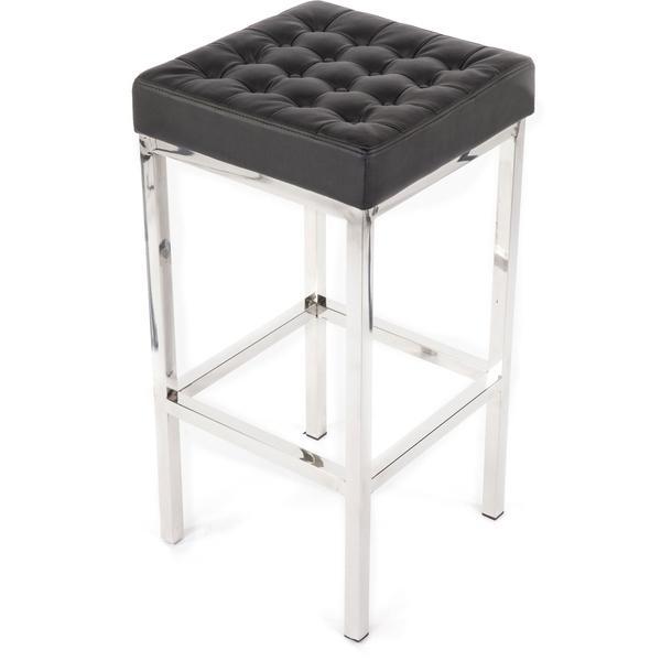 Awe Inspiring Hans Andersen Home Black Florence Style Leatherette Stool Lamtechconsult Wood Chair Design Ideas Lamtechconsultcom