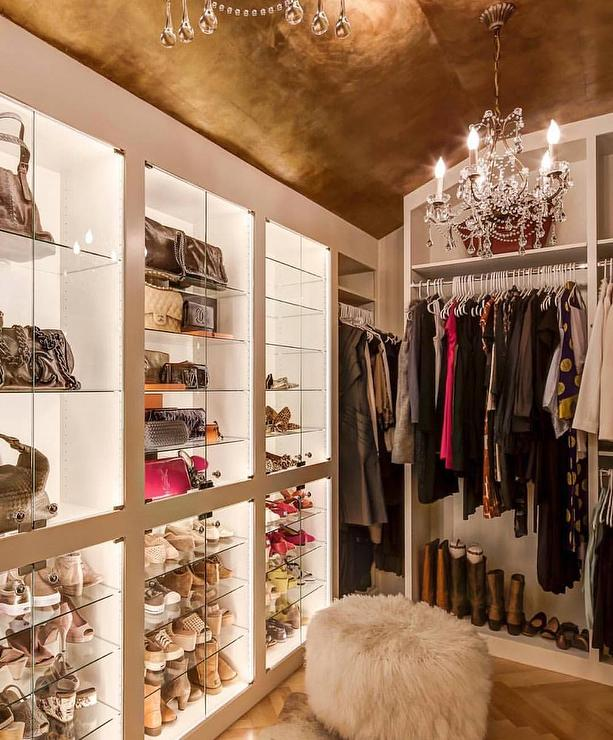 Closet Chandeliers Design Ideas