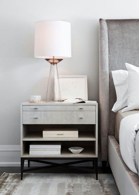 gray velvet wingback bed design ideas