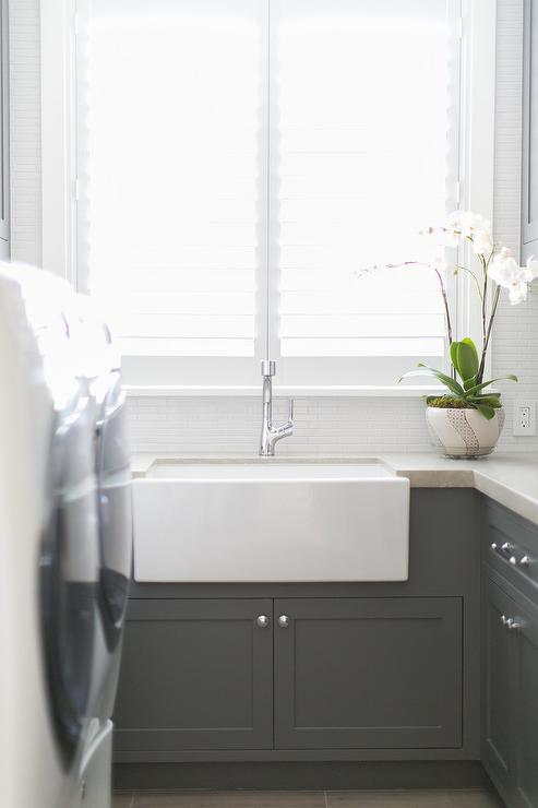Subway tile wainscoting