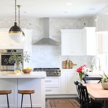 Kitchen Backsplash Up To Ceiling lighting - hyde park drum pendant