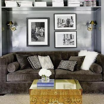 Living Room Wall Decor Over Couch Shelf