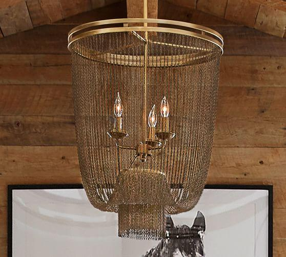 3 Tiered Chain Chandelier Arhaus Furniture