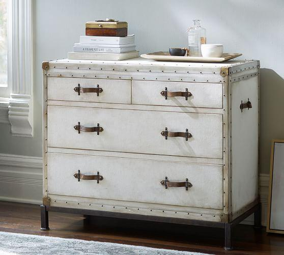 Ludlow Trunk Side Table Pottery Barn
