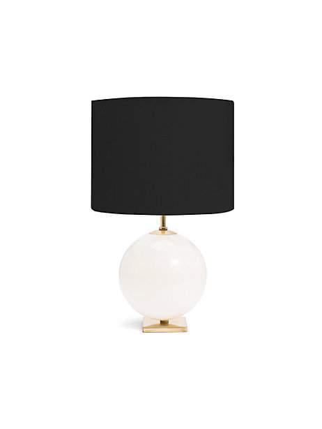 Cream And Black Elsie Table Lamp
