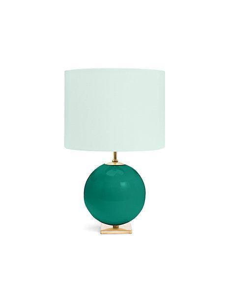 Turquoise And Aqua Elsie Table Lamp