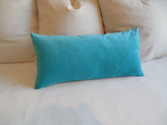 Fern Velvet Bolster Throw Pillow Pillows And Throws