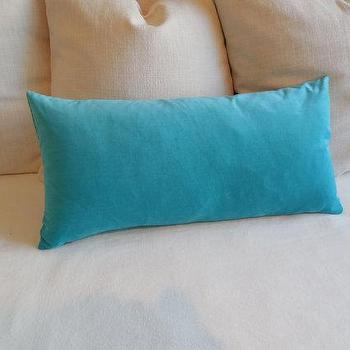 Fern Velvet Bolster Throw Pillow Pillows And Throws