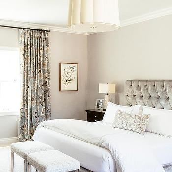 Bed In Front Of Window Contemporary Bedroom Gordon