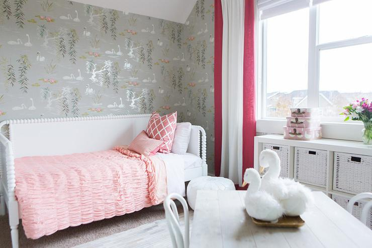 Pink And Red Girls Bedrooms