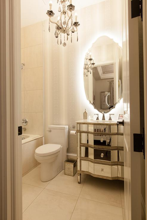 Oval Mirror Design Ideas