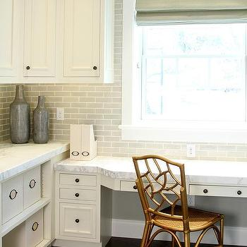 Laundry Room And Office Combo Ideas Transitional