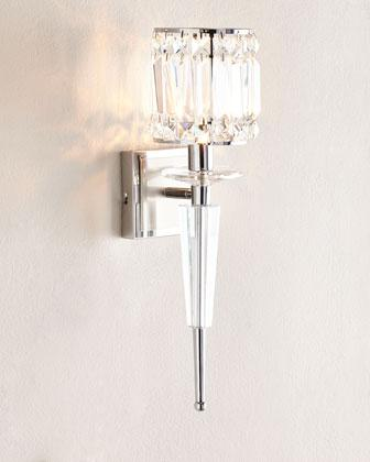 Silver Wall Sconce
