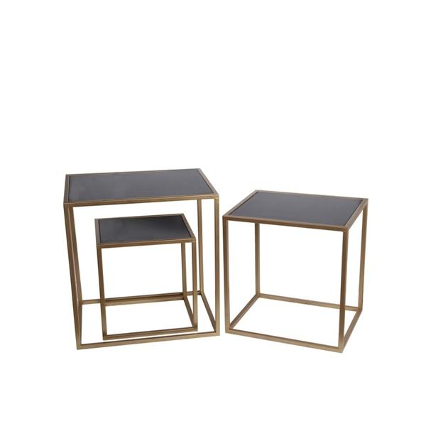 Liers Three Piece Nesting Table Set