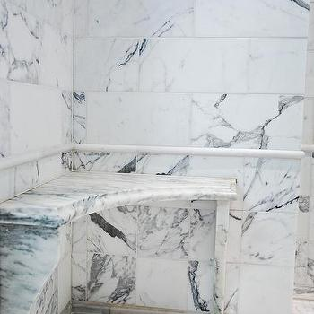 Shower Corner Bench Design Ideas