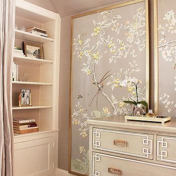 Gray Bedding Transitional Bedroom Jennifer Worts Design