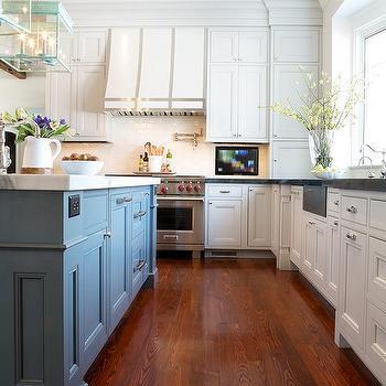 White Recessed Panel Kitchen Cabinets Design Ideas