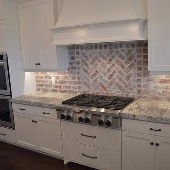 Incroyable Red Brick Kitchen Backsplash