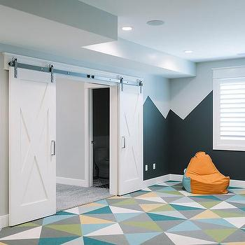 Turquoise Playroom Design Ideas