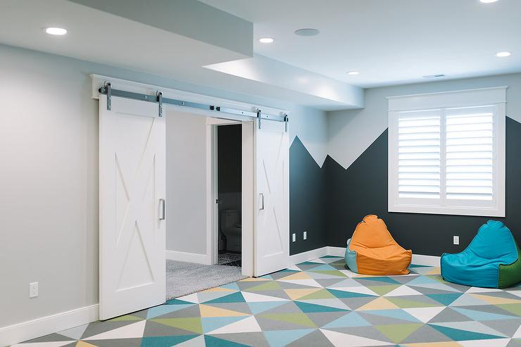 Turquoise Playroom Design Ideas