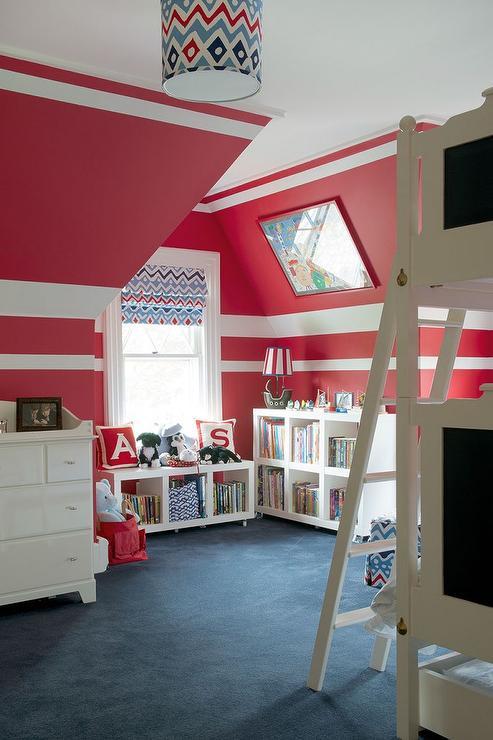 Red And Blue Cottage Kids Room Cottage Boy S Room
