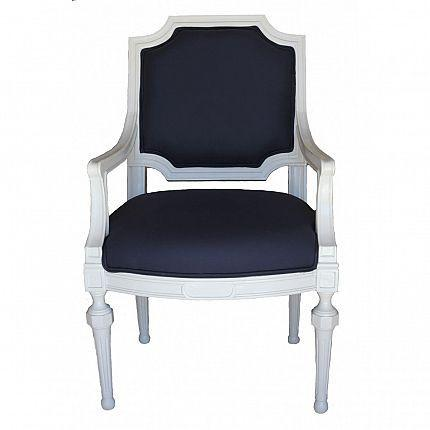 Awesome Savannah Navy Side Chair