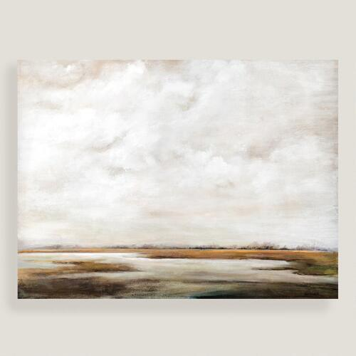 Neutral Wall Art white and brown art