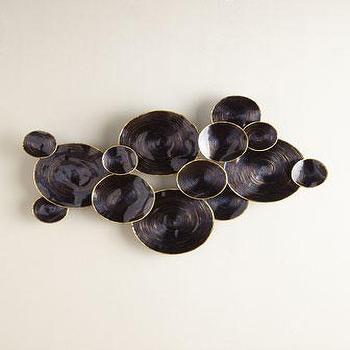 Circular Wall Decor black circular wall decor - products, bookmarks, design