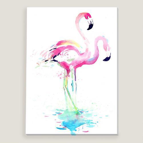 Pink Flamingo By Okalinichenko Art