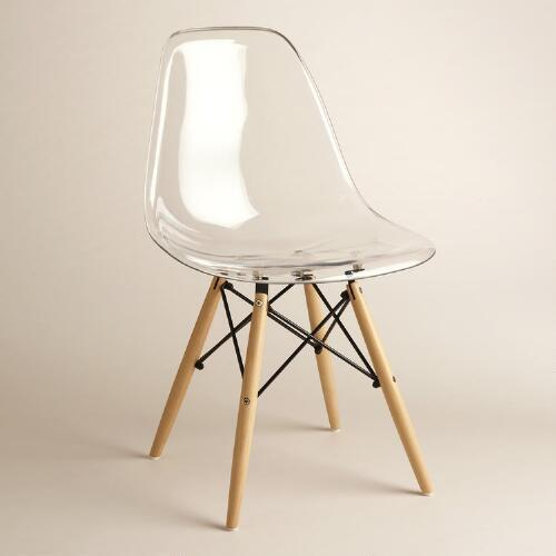 Ikea Tobias Clear Chair