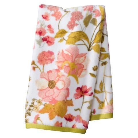 Threshold Pink Wild Flower Towel