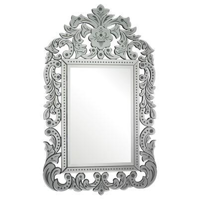 Bilbao Mirrored Glass Venetian Silver Mirror b3e0e027c04