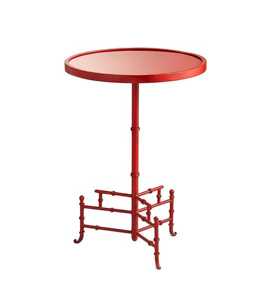 Liora Red Side Table