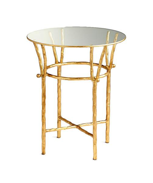 64f37a0e8799 Gold Branch Base End Table