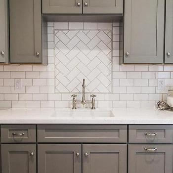 Backsplash Patterns herringbone pattern kitchen backsplash with subway tiles