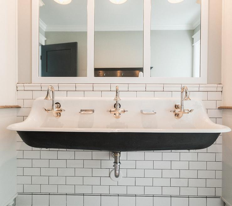 White Trough Bathroom Sink : view more bathrooms ?