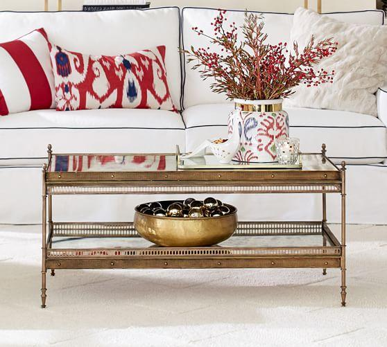 Colette Gold Coffee Table Design Ideas