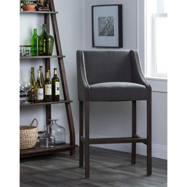 Home Aoki Charcoal Bar Stool