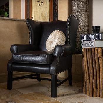 Ordinaire Christopher Knight Home Kincaid Top Grain Black Leather Arm Chair