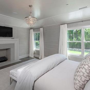 . Tv Over Bedroom Fireplace Design Ideas