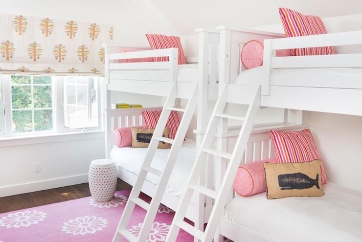 Purple Girls Bedroom With Restoration Hardware