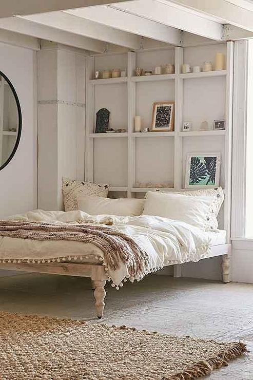 White Wash Chennai Bed