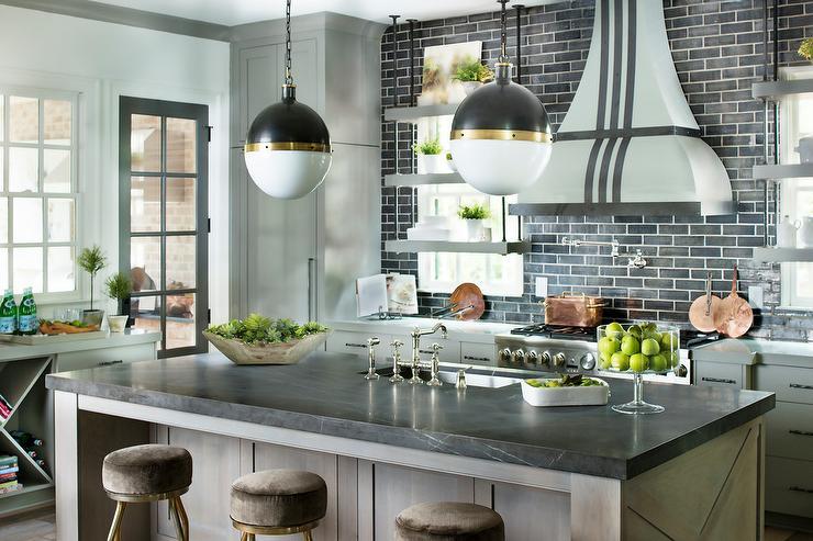Glass Front Kitchen Cabinets Mediterranean Ecomanor