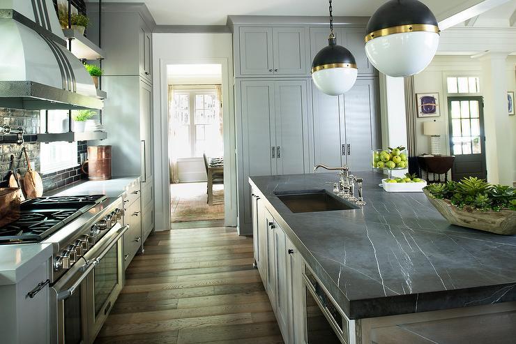 pietra grigio marble countertops design ideas