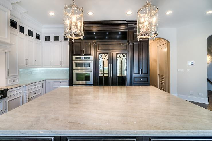 Taj Mahal Quartzite Kitchen Countertops Design Ideas