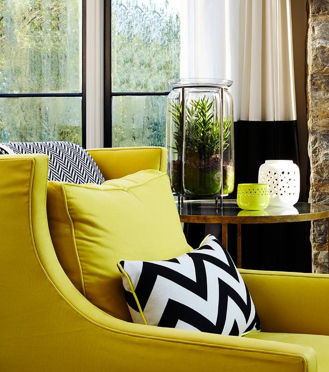 Yellow Accent Chair Design Ideas