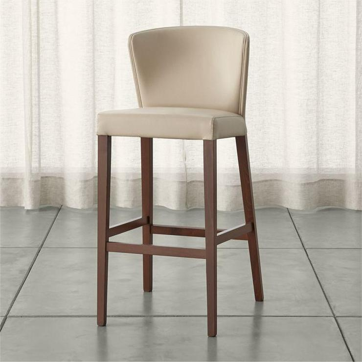 Beige Curran Crema Bar Stool - Beige Linen Bar Stool - Products, Bookmarks, Design, Inspiration