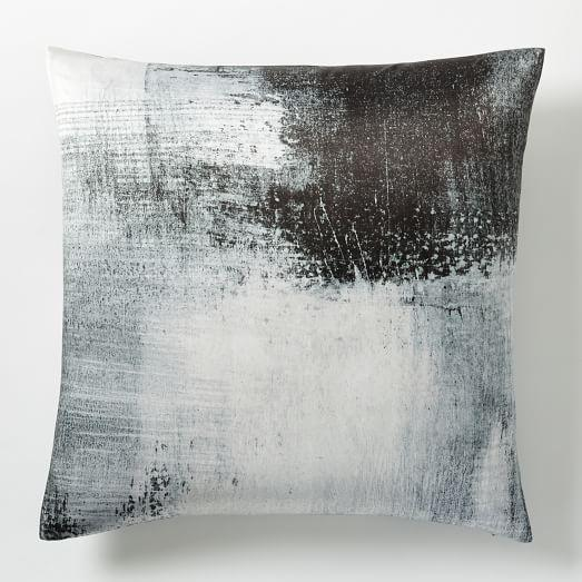 Blue Abstract Pillow Cover