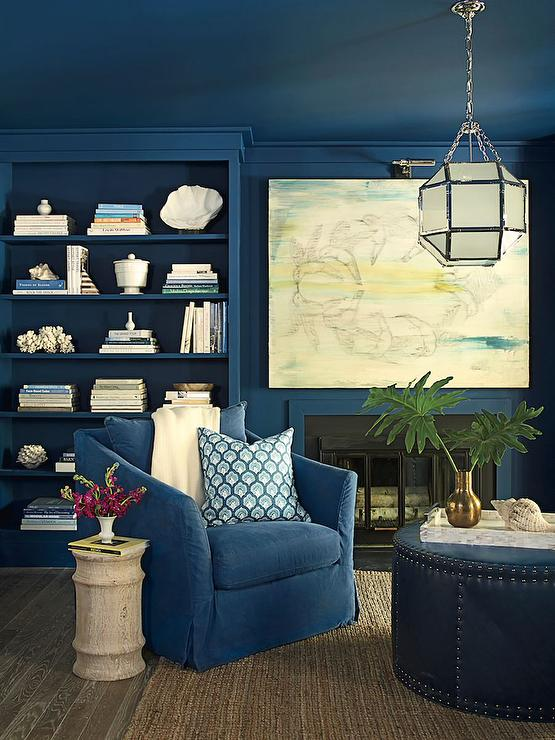 view full size tracery interiors blue home office blue home office
